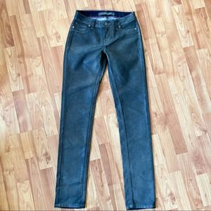 Christopher Blue || waxed skinny jeans jeggings 2
